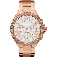 Michael Kors Ladies Sport Chronograph Camille Watch - MK5636