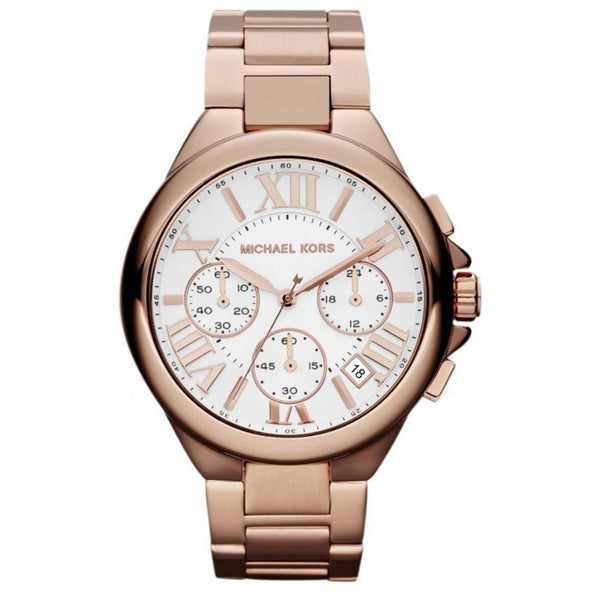Michael Kors Unisex Rose Gold Camille Watch - Mk5757