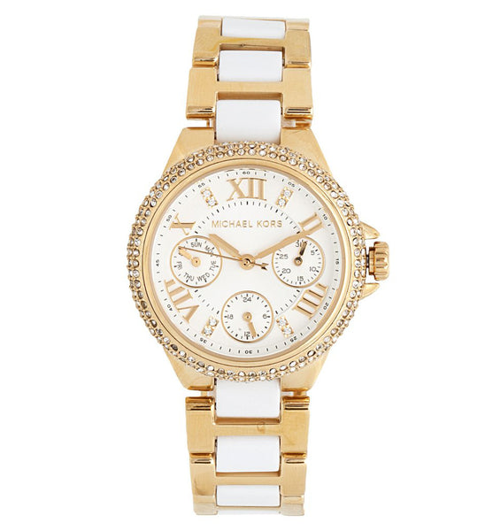 Michael Kors Ladies  Gold Camille Watch - MK5945