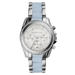 Michael Kors Ladies Silver x Chambray Blair Blair Watch - MK6137
