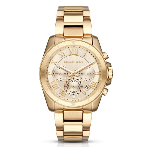 Michael Kors Ladies Gold Brecken Watch - MK6366