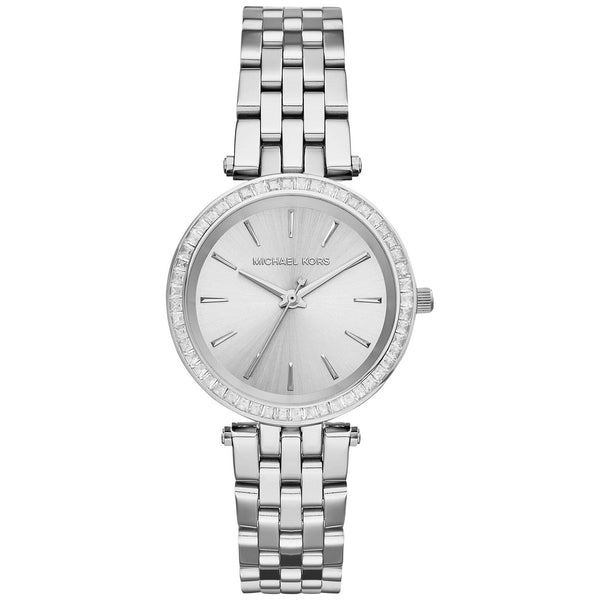 Michael Kors Ladies Silver Petite Darci Watch - MK3364