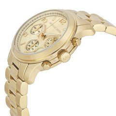 Michael Kors Ladies Gold-Tone Runway Midsized Watch - MK5055
