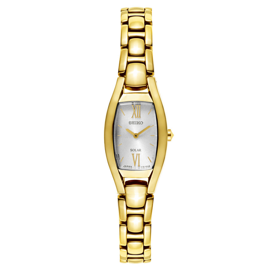Seiko Ladies Gold x Silver Dial Core Watch - SUP320