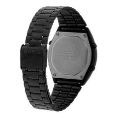 Casio Mens Black Steel Digital Watch - B640WB-1AEF