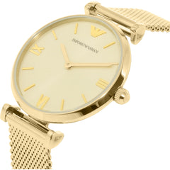 Emporio Armani Ladies Gold Retro Watch - AR1957