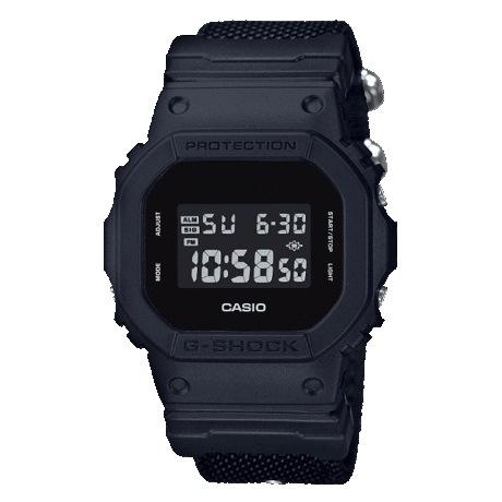 Casio G-Shock Black Watch - DW-5600BBN-1ER
