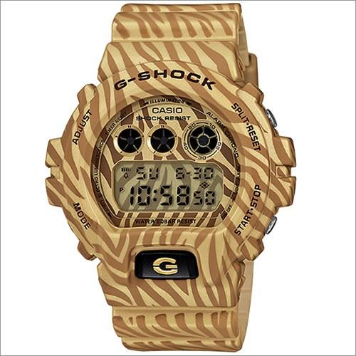 Casio Mens Gold Zebra G-shock -  DW-6900ZB-9