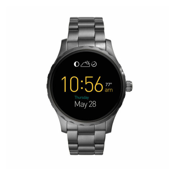 TEMP LINK - Fossil Q Mens Black Generation 3 Smartwatch - FTW2108