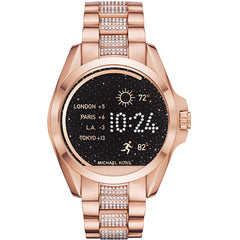 Michael Kors Access Rose Gold-Tone Bradshaw  Smartwatch - MKT5018
