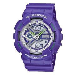Casio Unisex Purple Digital & Analogue G-Shock - GA-110DN-6ADR