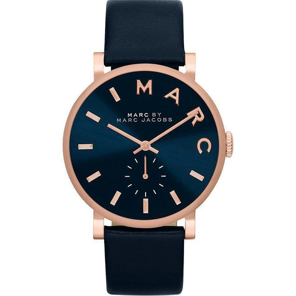 Marc Jacobs Ladies Navy Baker Watch - MBM1329