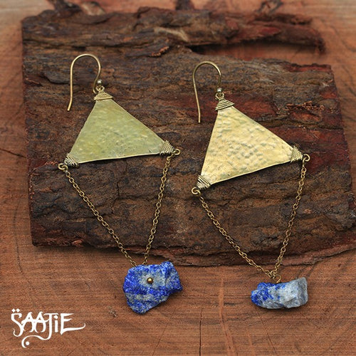 Earrings,boho jewellery, bohemian jewelry, tribal jewellery, african jewellery, statement jewellery, gemstone jewellery Saajie
