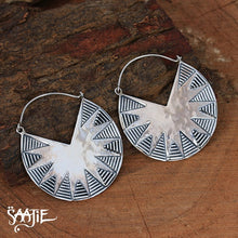 Load image into Gallery viewer, Earrings,boho jewellery, bohemian jewelry, tribal jewellery, african jewellery, statement jewellery, gemstone jewellery Saajie