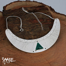Load image into Gallery viewer, Jewellery set,boho jewellery, bohemian jewelry, tribal jewellery, african jewellery, statement jewellery, gemstone jewellery Saajie