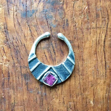 Load image into Gallery viewer, Septum,boho jewellery, bohemian jewelry, tribal jewellery, african jewellery, statement jewellery, gemstone jewellery Saajie
