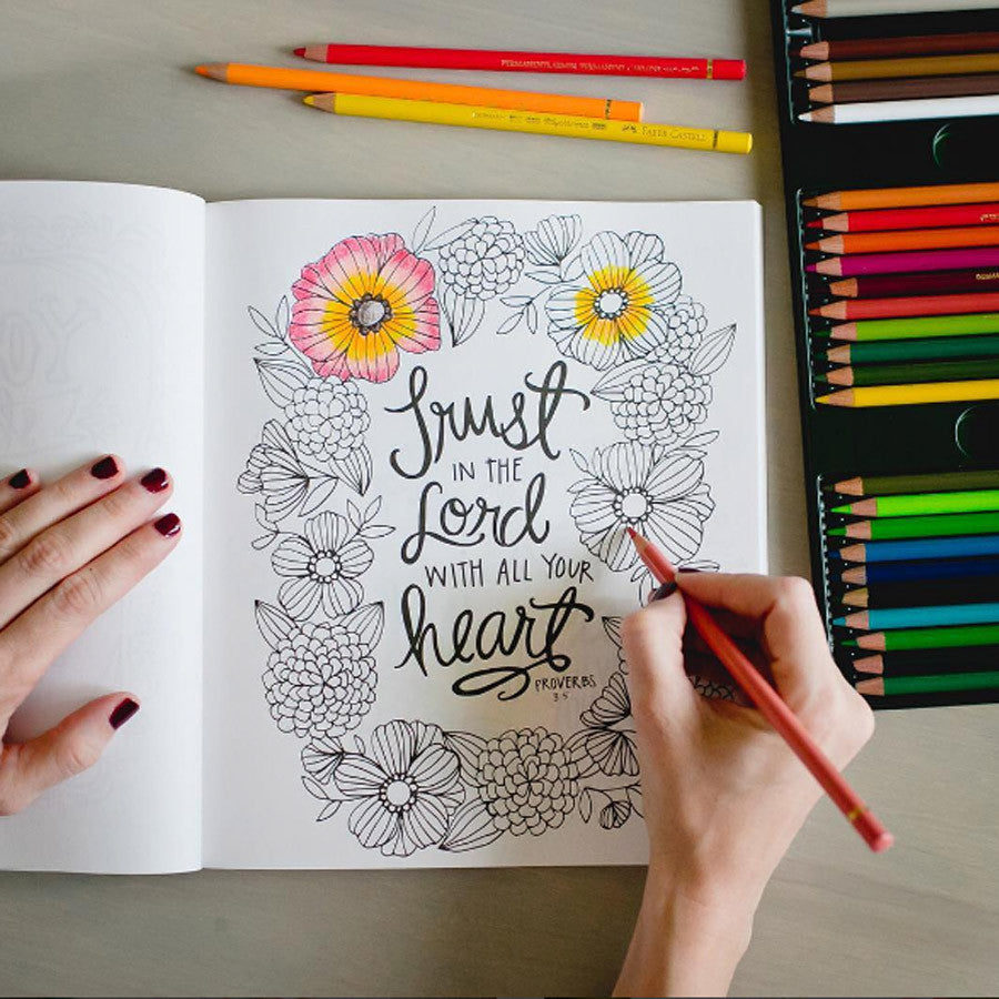 BEAUTY IN THE BIBLE ADULT COLORING BOOK VOLUME 2 PREMIUM EDITION