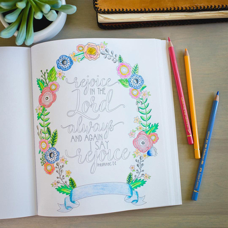 BEAUTY IN THE BIBLE AN ADULT COLORING BOOK PREMIUM EDITION