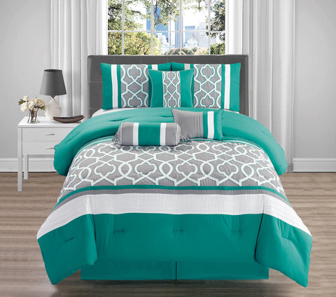 HQ KAREN 7PC COMFORTER SET