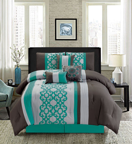 HQ MADELYN 7PC COMFORTER SET