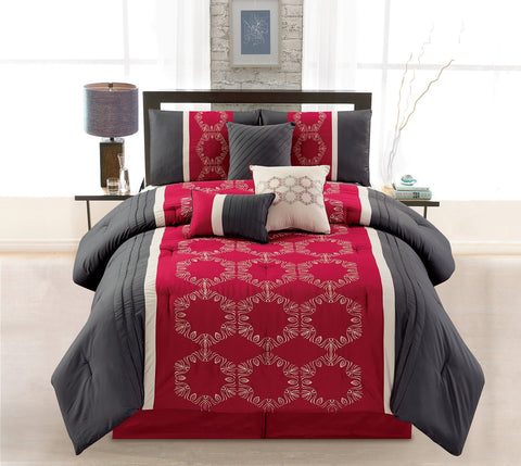 HQ MILEY 7PC COMFORTER SET