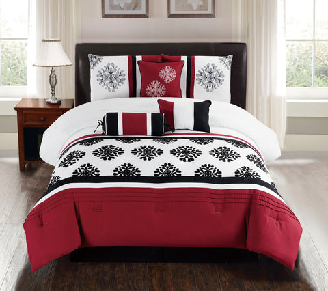 HQ MINDY 7PC COMFORTER SET