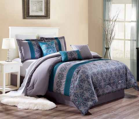 HQ RILEY 7PC COMFORTER SET