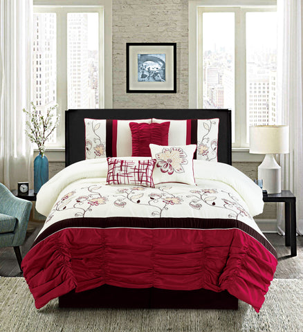 HQ VICTORIA 7PC COMFORTER SET