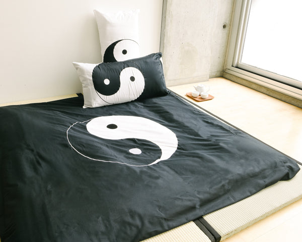 Yin Yang Standard Pillow Shams