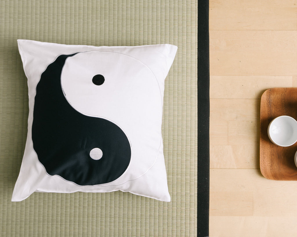 Yin Yang Decorative Pillow Sham