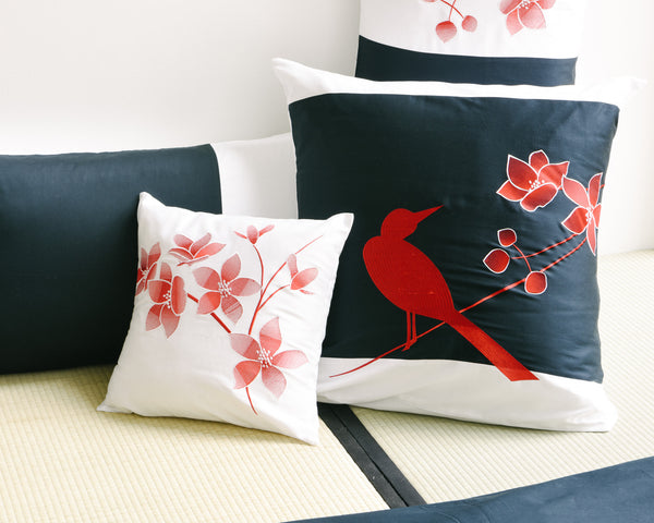 Spring Birds Decorative Pillow Sham