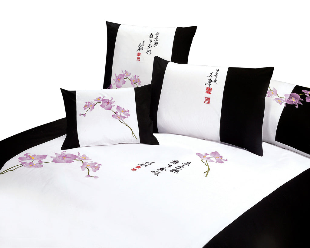 Orchid Duvet Cover Set