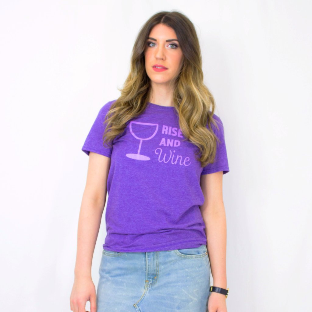 "Jenna ""Rise and Wine"" Tee"