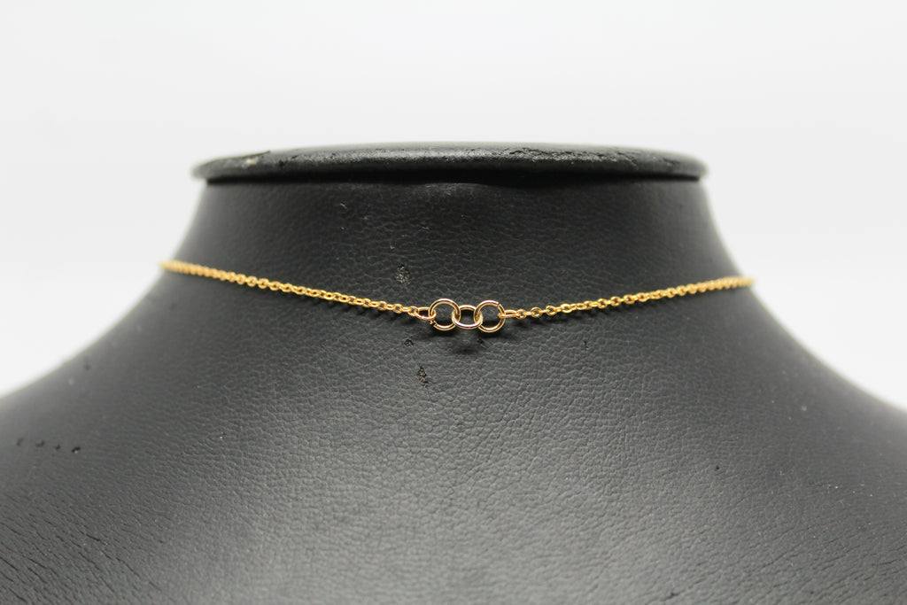 "Kay ""3 Ring"" Choker in Gold"