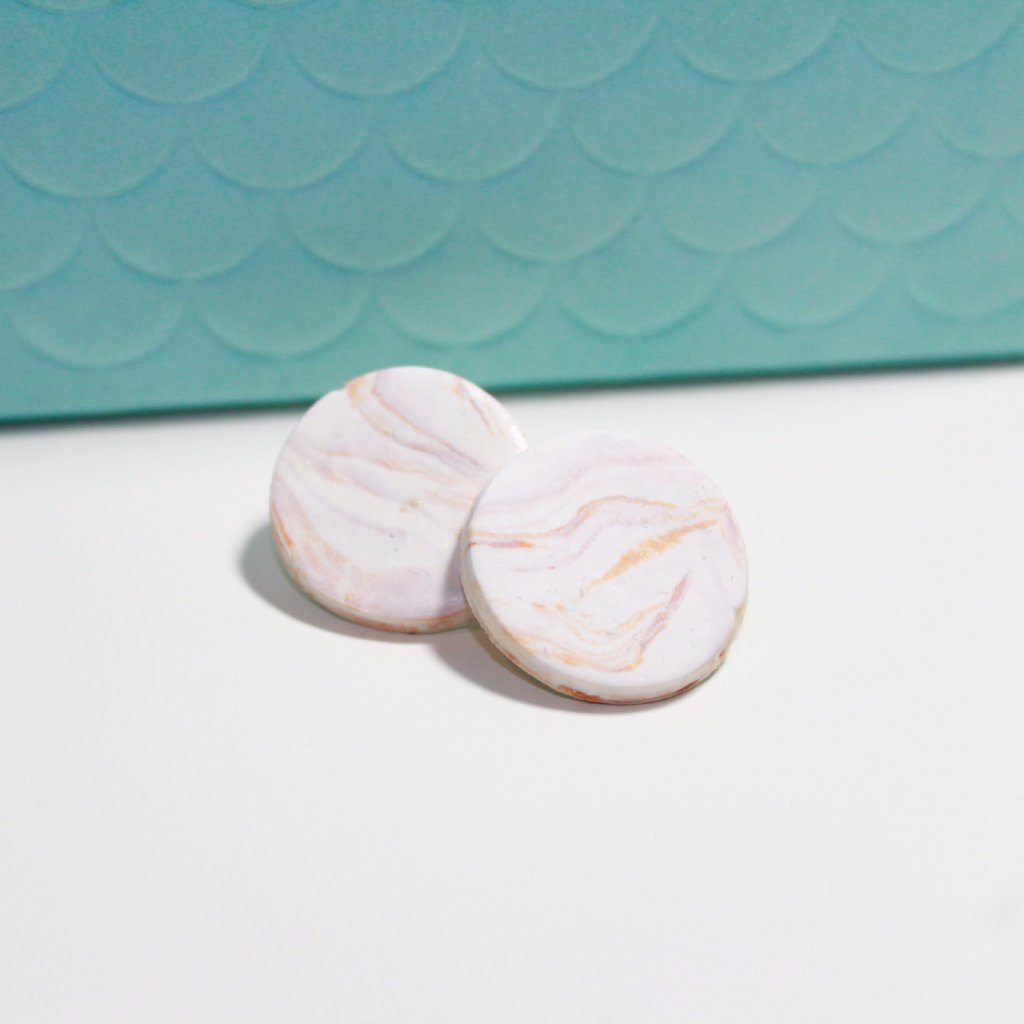 Aria Marble Earrings