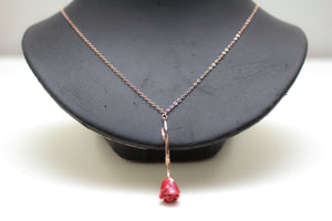 Val Necklace in Rose Gold