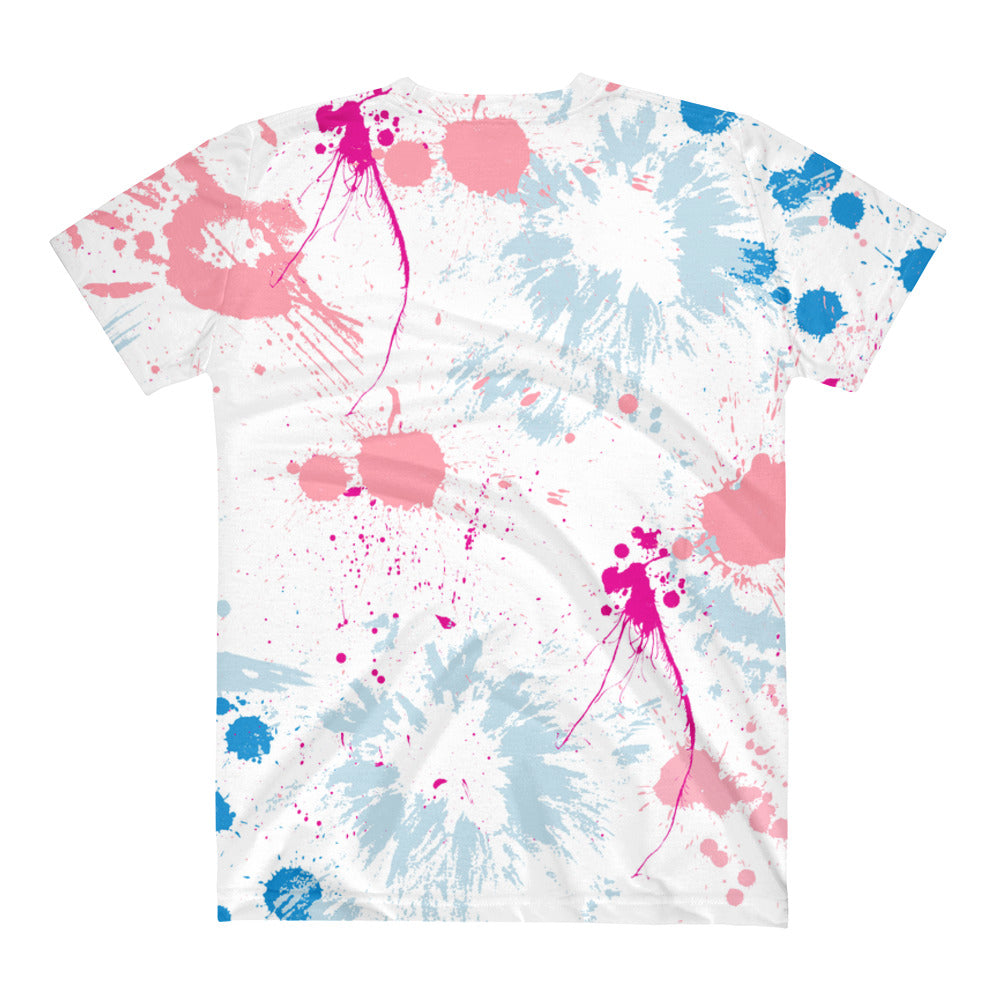 Hannah All Over Printed V-Neck