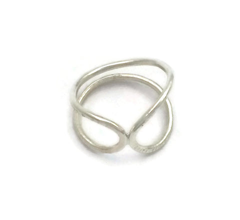 Fractured Infinity Ring