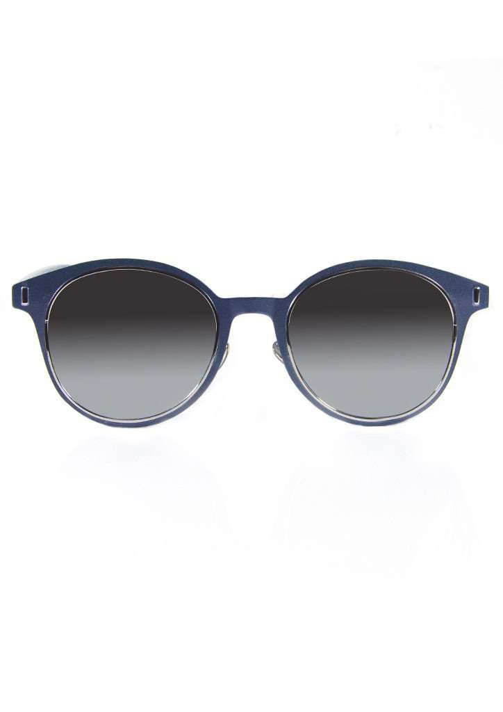 Grey Oval Sunglasses - Sunglasses - Teen Girls Clothing fashion - Miss Behave Girls