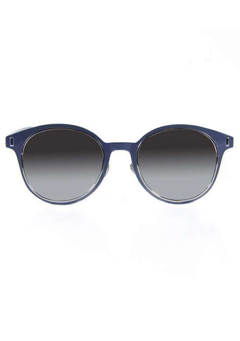 Black Retro Fashion Google Frame Oval Sunglasses