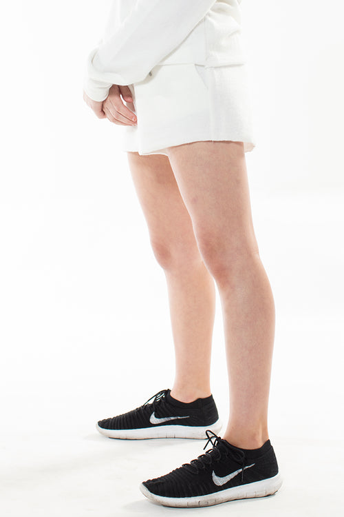 ASHLEY Brushed Modal Slouch Shorts