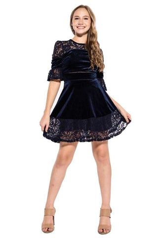 Bella Cold Shoulder Lace Dress
