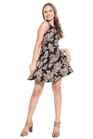 Safira Crape Chiffon Cut Out Romper