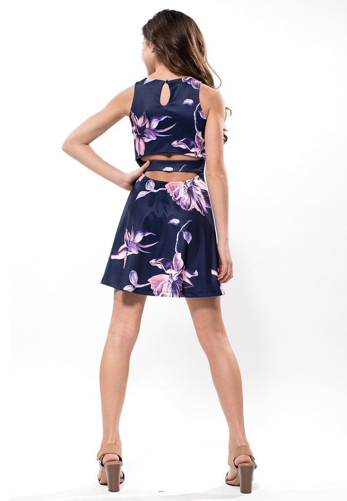 Jessica Navy Floral