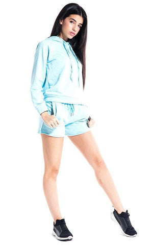 Ashley Loop Terry Slouch Shorts - Shorts - Teen Girls Clothing fashion - Miss Behave Girls