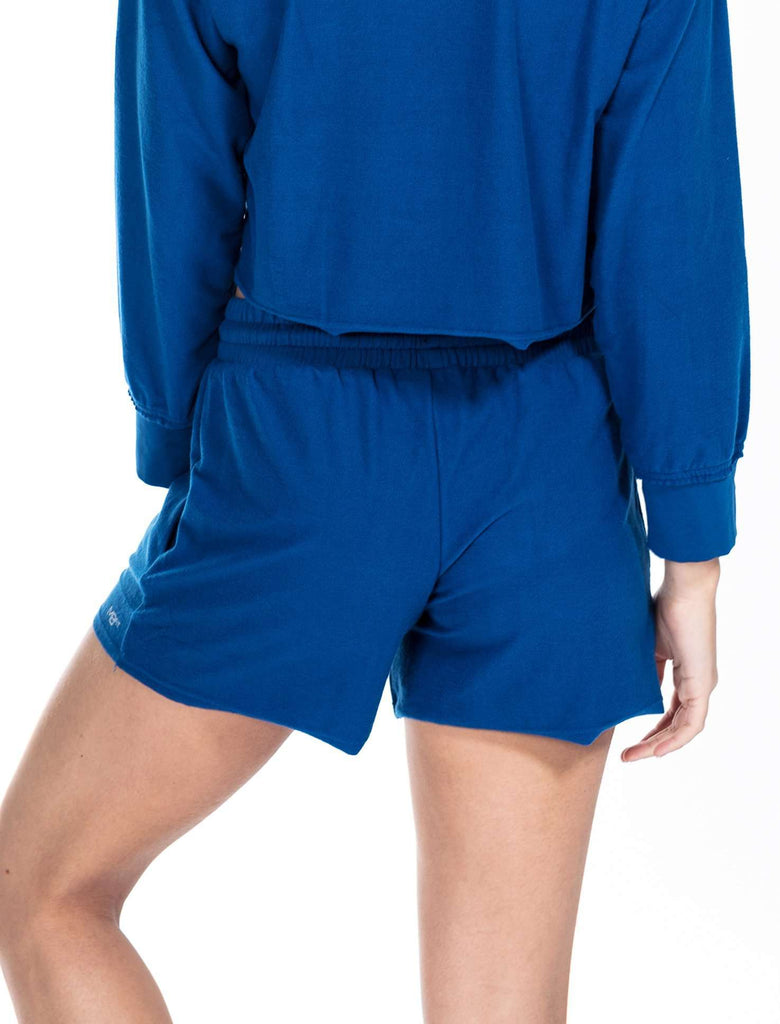 Ashley Brushed Fleece Slouch Shorts - Shorts - Teen Girls Clothing fashion - Miss Behave Girls