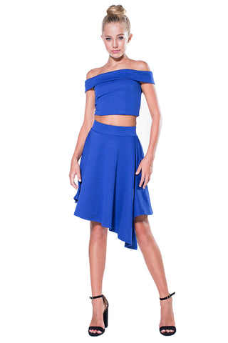 Harper Cut-Out Knit Dress