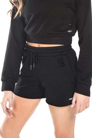Ashley Loop Terry Slouch Shorts