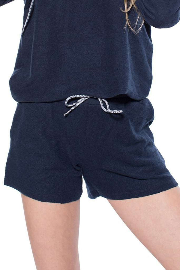 Ashley Brushed Slouch Shorts - Shorts - Teen Girls Clothing fashion - Miss Behave Girls