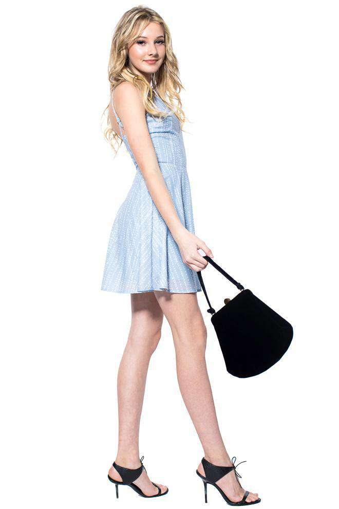 Sasha Cami Skater Dress - Dress - Teen Girls Clothing fashion - Miss Behave Girls